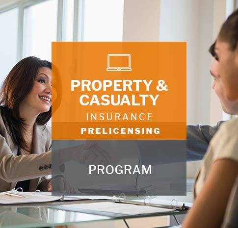 Property and Casualty insurance prelicensing program
